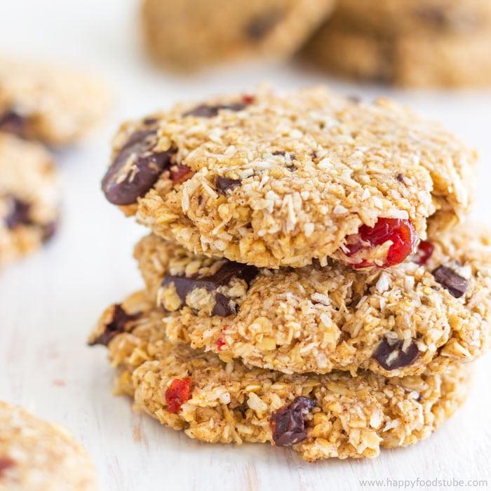 Flourless Oatmeal Cookies Healthy  Flourless Chocolate Oatmeal Cookies Recipe Happy Foods Tube