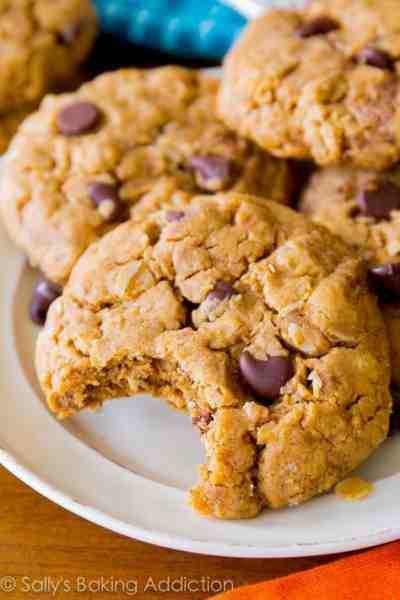 Flourless Oatmeal Cookies Healthy  Chewy Flourless Oatmeal Cookies