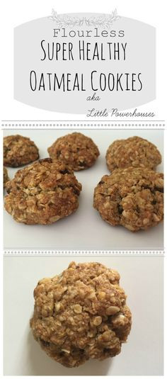 Flourless Oatmeal Cookies Healthy  Raw Cacao Avocado Pudding