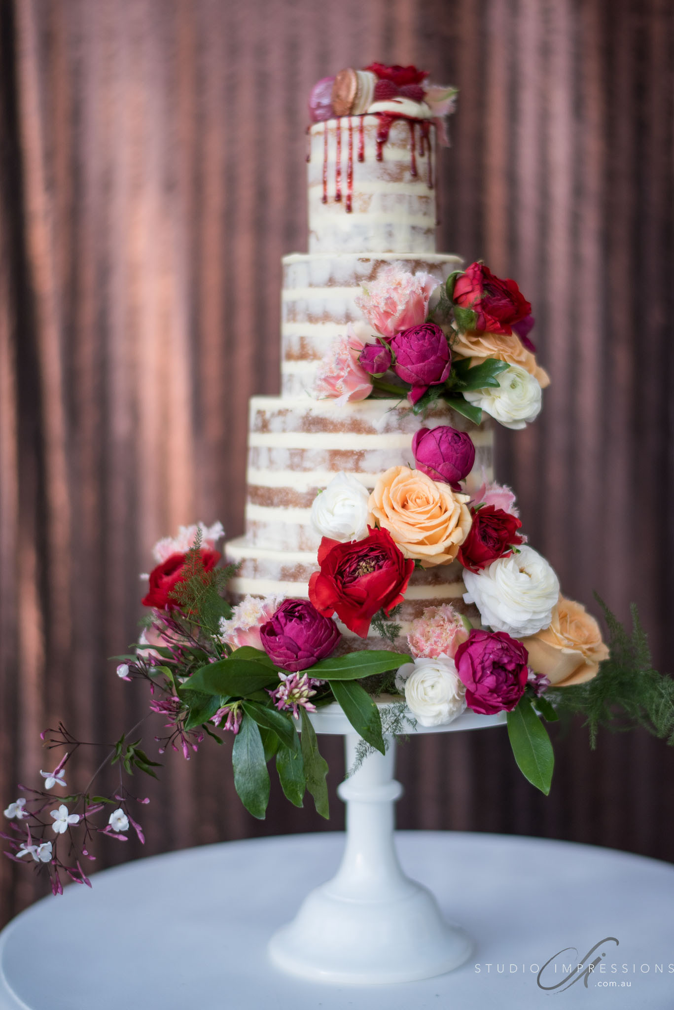 Flowers For Wedding Cakes  Wedding Cake Flowers Mondo Floral Designs