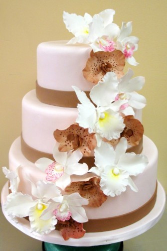 Flowers For Wedding Cakes Artificial  Wedding Cake Decoration Ideas Flowers