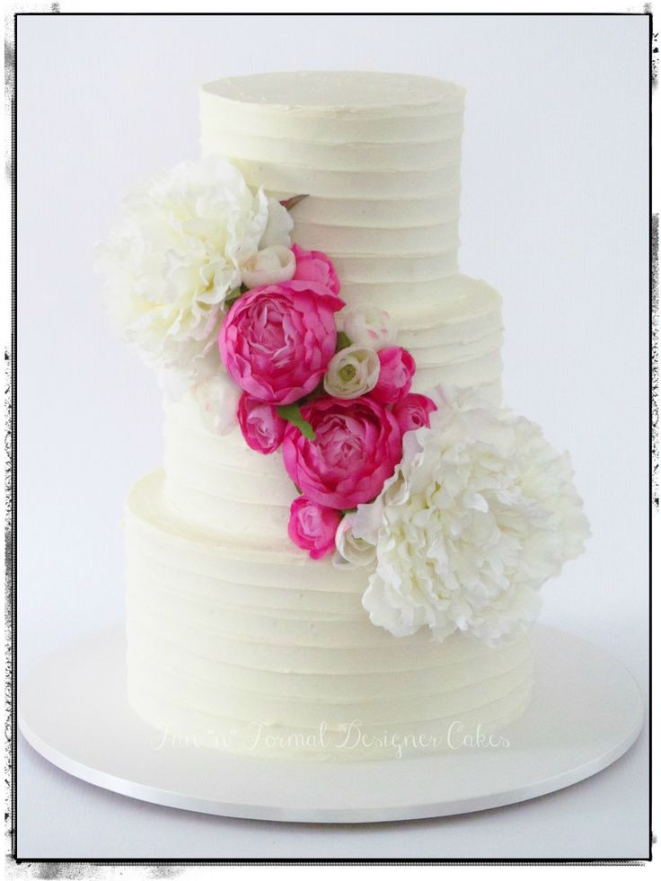 Flowers For Wedding Cakes Artificial  147 best Wedding and Engagement Cakes images on Pinterest