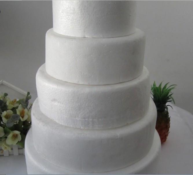 Foam Wedding Cakes  Styrofoam wedding cake idea in 2017