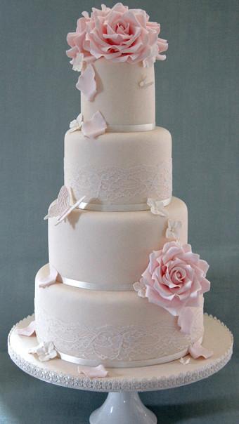 Foam Wedding Cakes  Styrofoam Wedding Cake Wedding and Bridal Inspiration