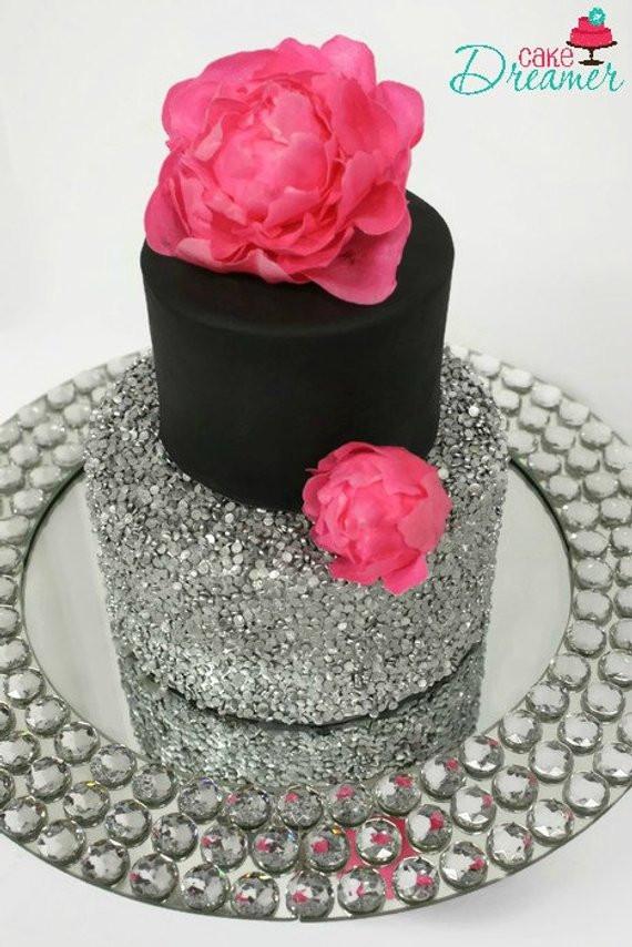 Foam Wedding Cakes  Fake Sequin Wedding Cake Styrofoam Cake Dummy Cake Faux