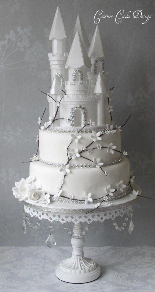 Foam Wedding Cakes  Styrofoam Cinderella Castle 8