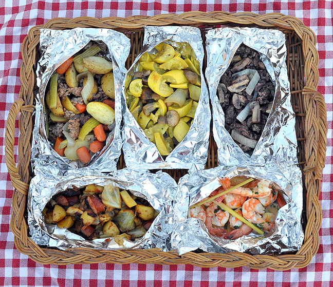 Foil Dinners For Camping  5 Simple spring meals on the grill