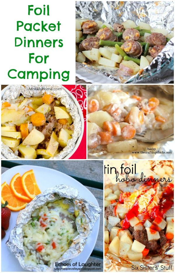 Foil Dinners For Camping  Foil Packet Recipes Collection