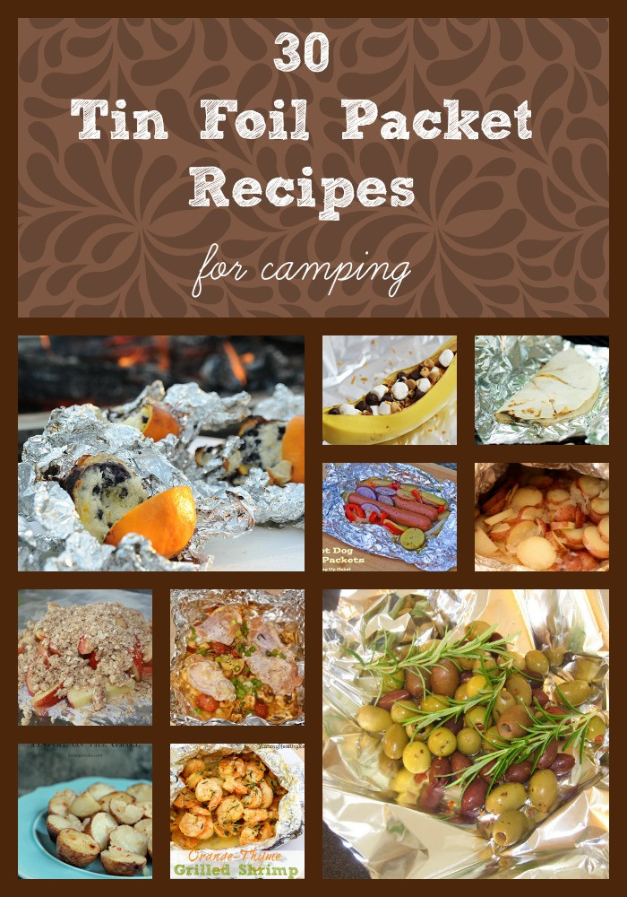 Foil Dinners For Camping  30 Tin Foil Packet Camping Recipes