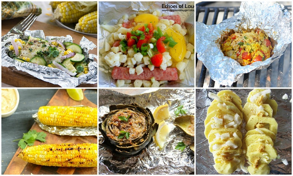 Foil Dinners For Camping  30 Camping Tin Foil Dinners e Sweet Appetite