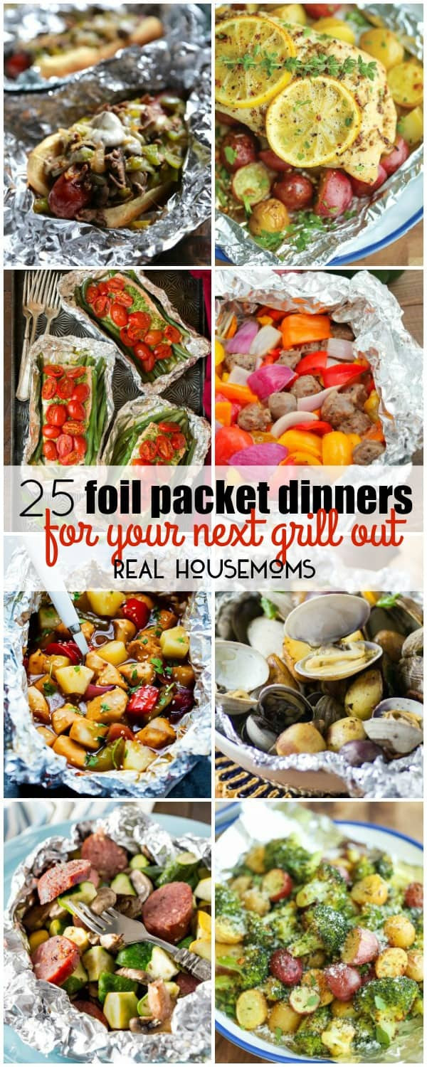 Foil Packet Dinners Camping  25 Foil Packet Dinners for Your Next Grill Out ⋆ Real