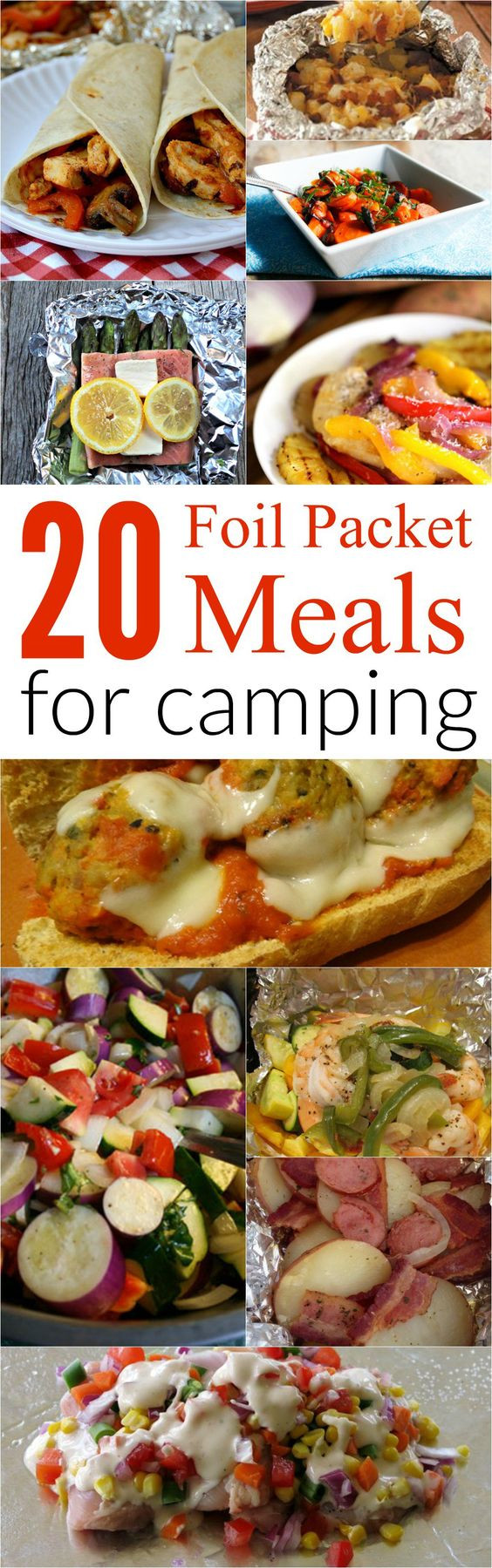 Foil Packet Dinners Camping  Top 20 Foil Meal Packet Recipes for Camping Great on the