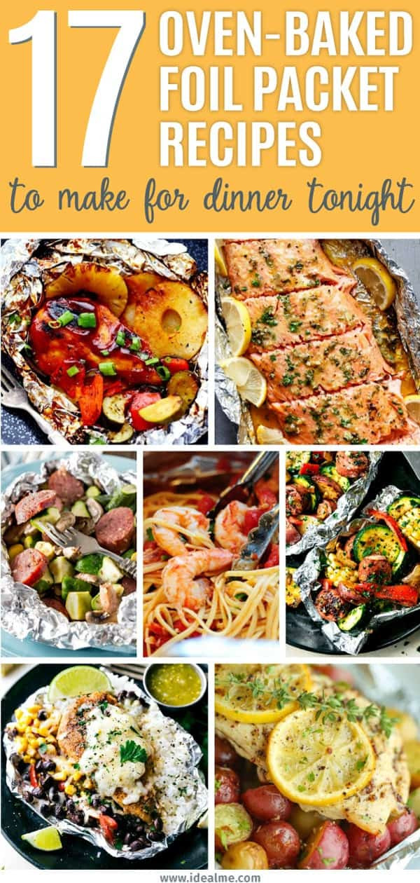 Foil Packet Dinners Camping  17 Oven Baked Foil Packet Recipes To Make For Dinner