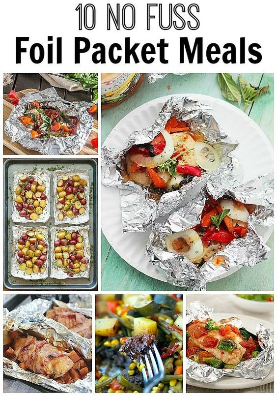 Foil Packet Dinners Camping  10 No Fuss Foil Packet Meals