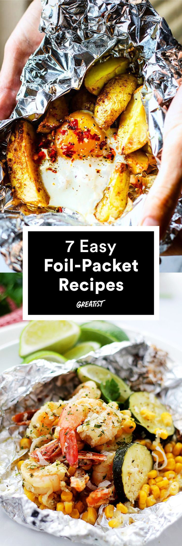 Foil Packet Dinners Camping  17 Best images about Recipes