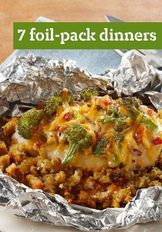 Foil Packet Dinners Camping  7 Foil Pack Dinners – These foil pack dinner recipes are