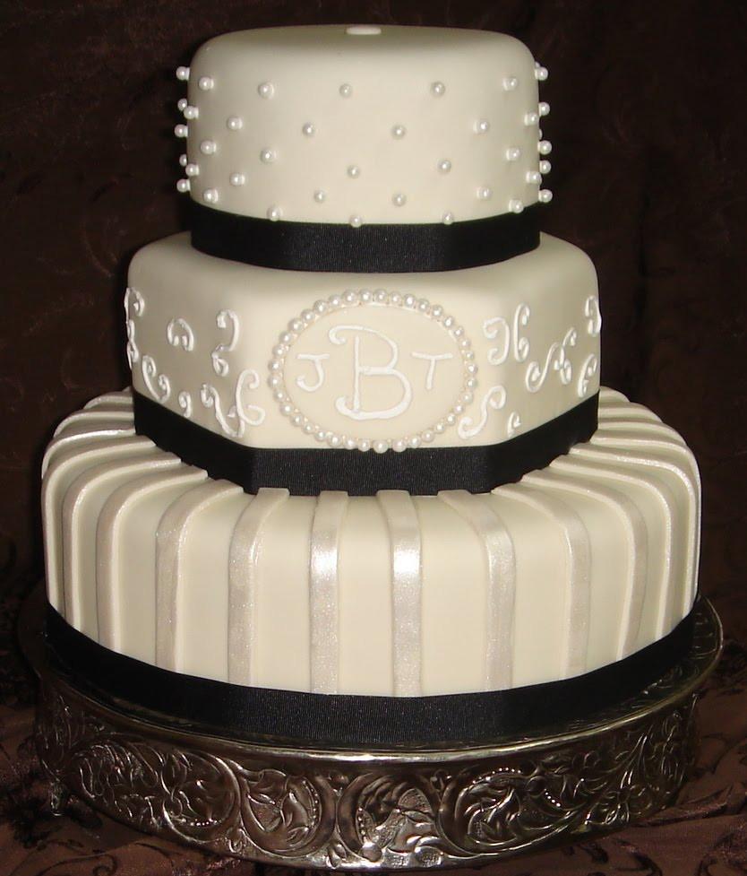 Fondant Wedding Cakes  Fondant Wedding Cake Designs Wedding and Bridal Inspiration