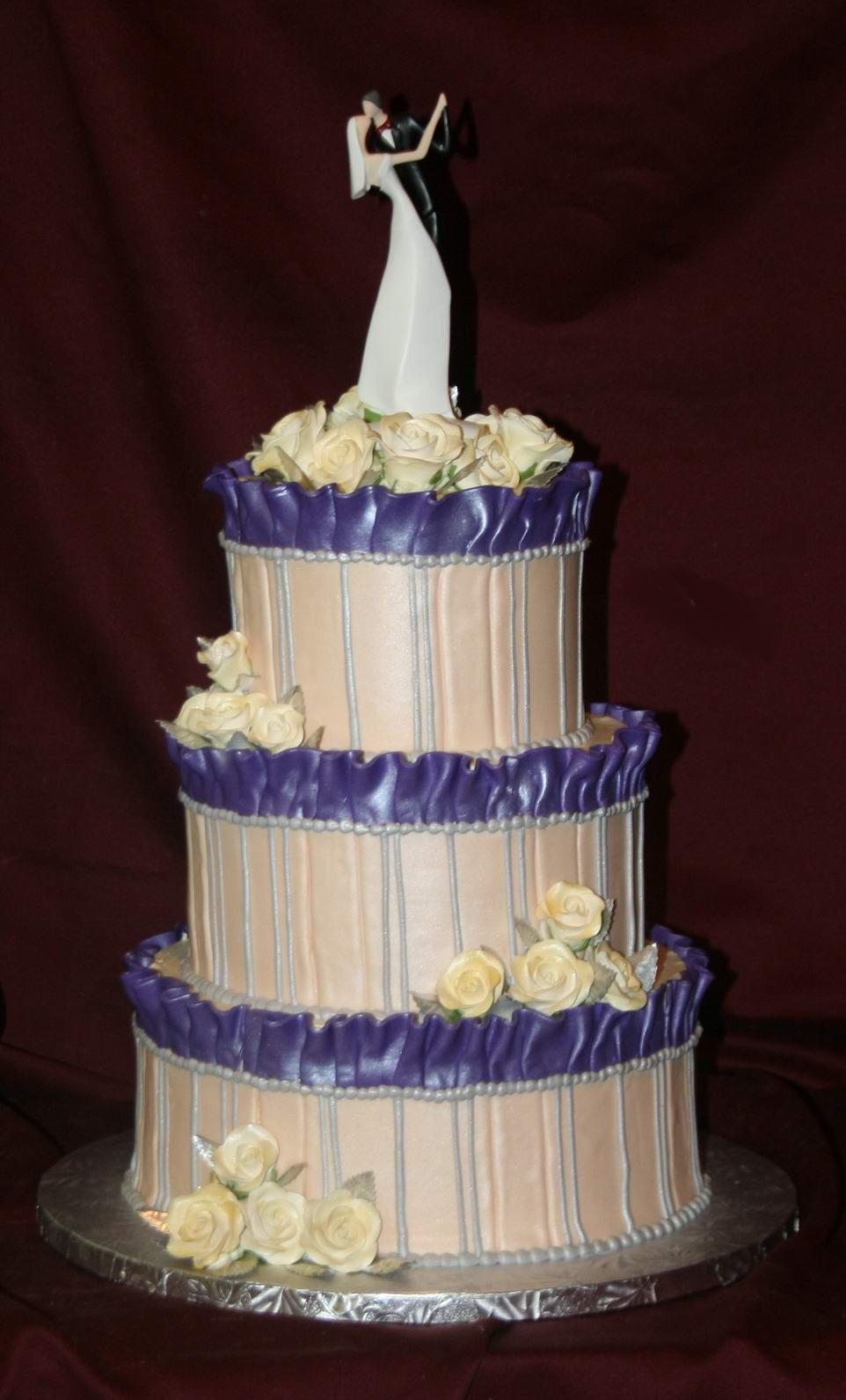 Fondant Wedding Cakes  No fondant wedding cake idea in 2017