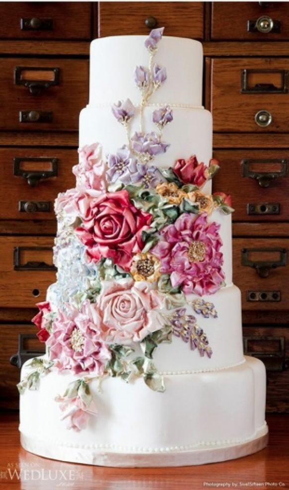 Fondant Wedding Cakes  Fondant Wedding Cakes ♥ Wedding Cake Design Weddbook