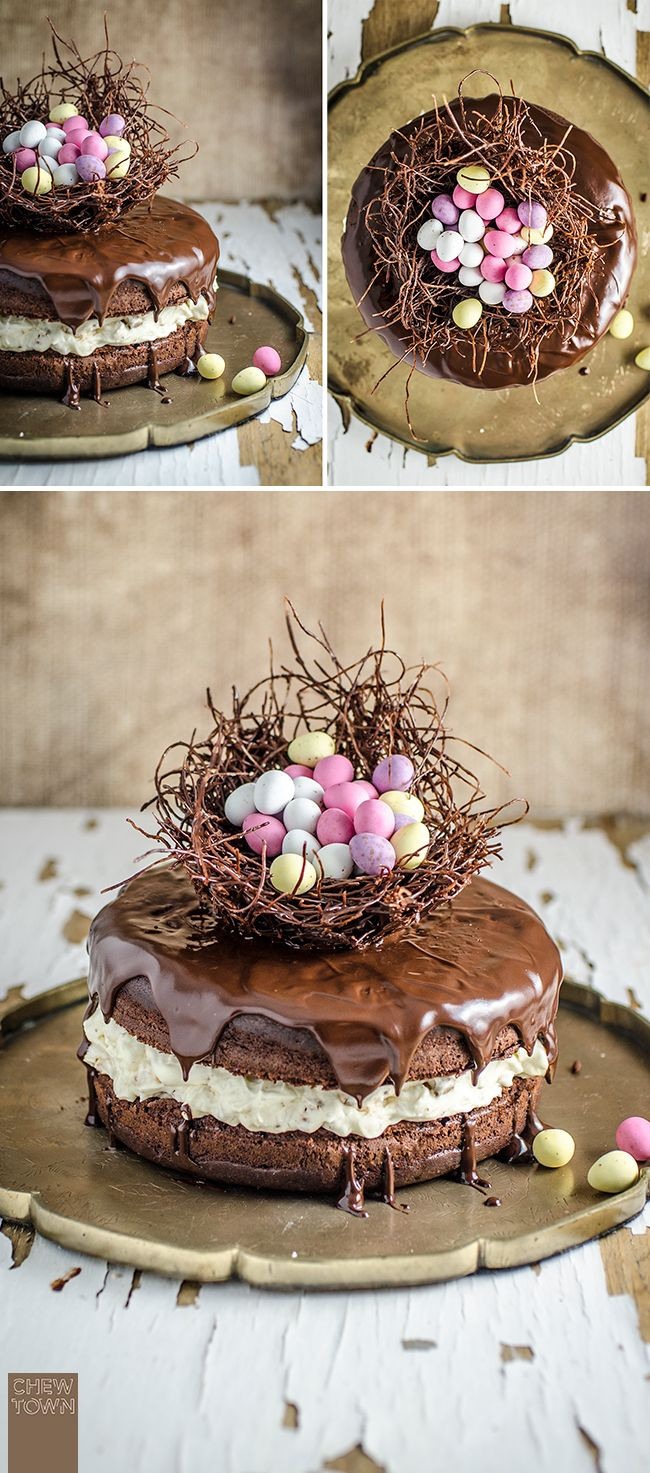 Food Network Easter Desserts  Best 20 Chocolate Easter Eggs ideas on Pinterest