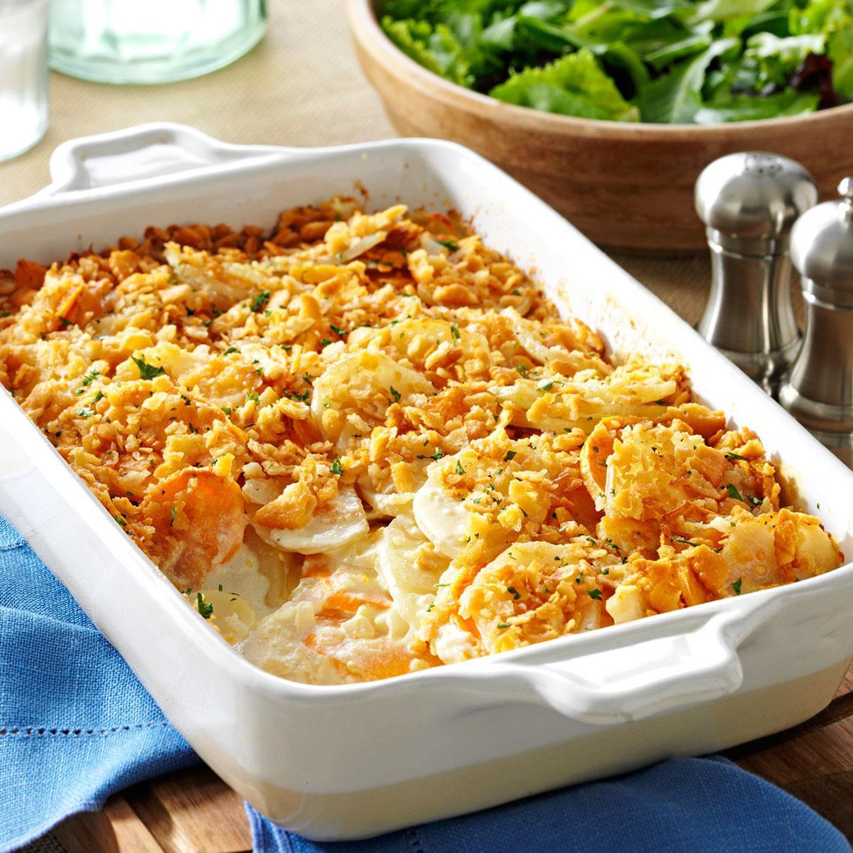 Food Network Easter Dinner  Dijon Scalloped Potatoes Recipe