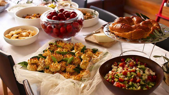 Food Network Easter Dinner  The ultimate Greek Orthodox Easter menu