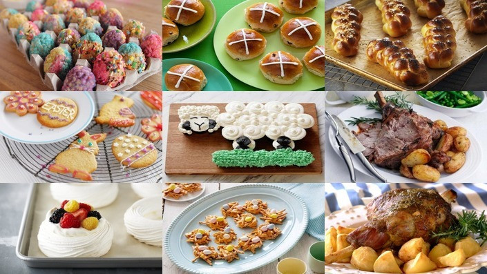 Food Network Easter Dinner  88 Easter Recipes Recipes