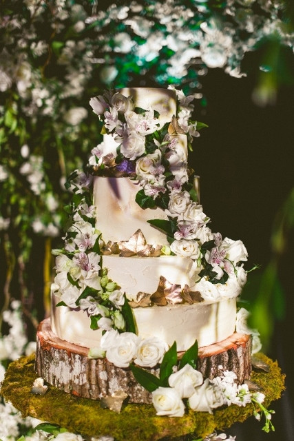 Forest Wedding Cakes  An Enchanted Forest Wedding Jacqueline and Amir A Chair