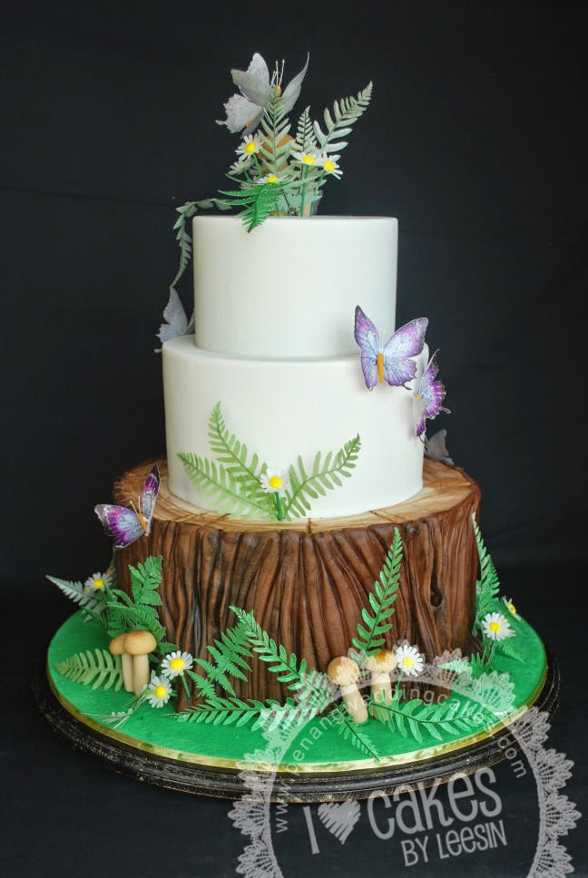 Forest Wedding Cakes  Penang Wedding Cakes by Leesin Fantasy Forest Wedding Cake