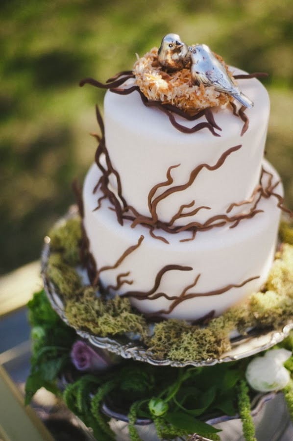 Forest Wedding Cakes  Memorable Wedding A Forest Theme Wedding