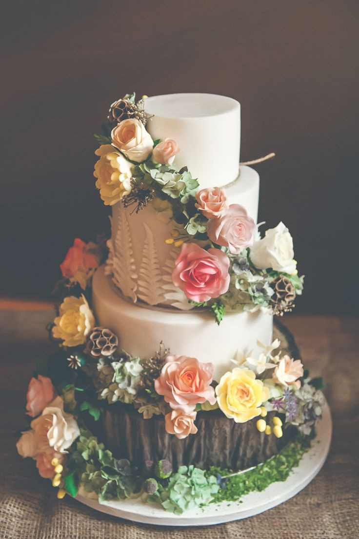 Forest Wedding Cakes  Best 25 Enchanted forest cake ideas on Pinterest