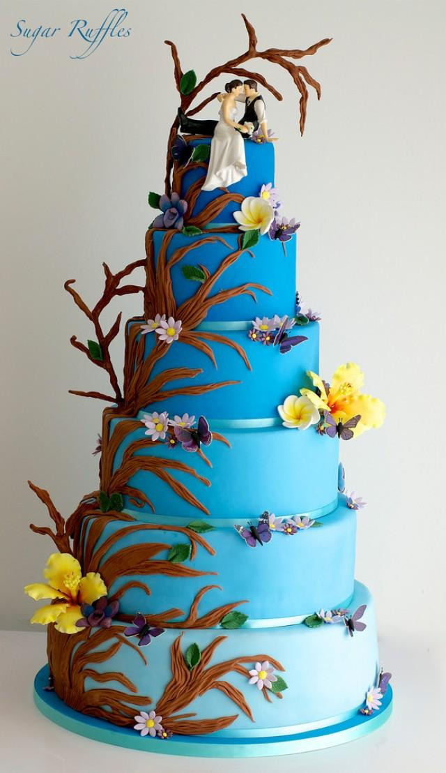 Forest Wedding Cakes  Food & Favor Enchanted Forest Wedding Cake