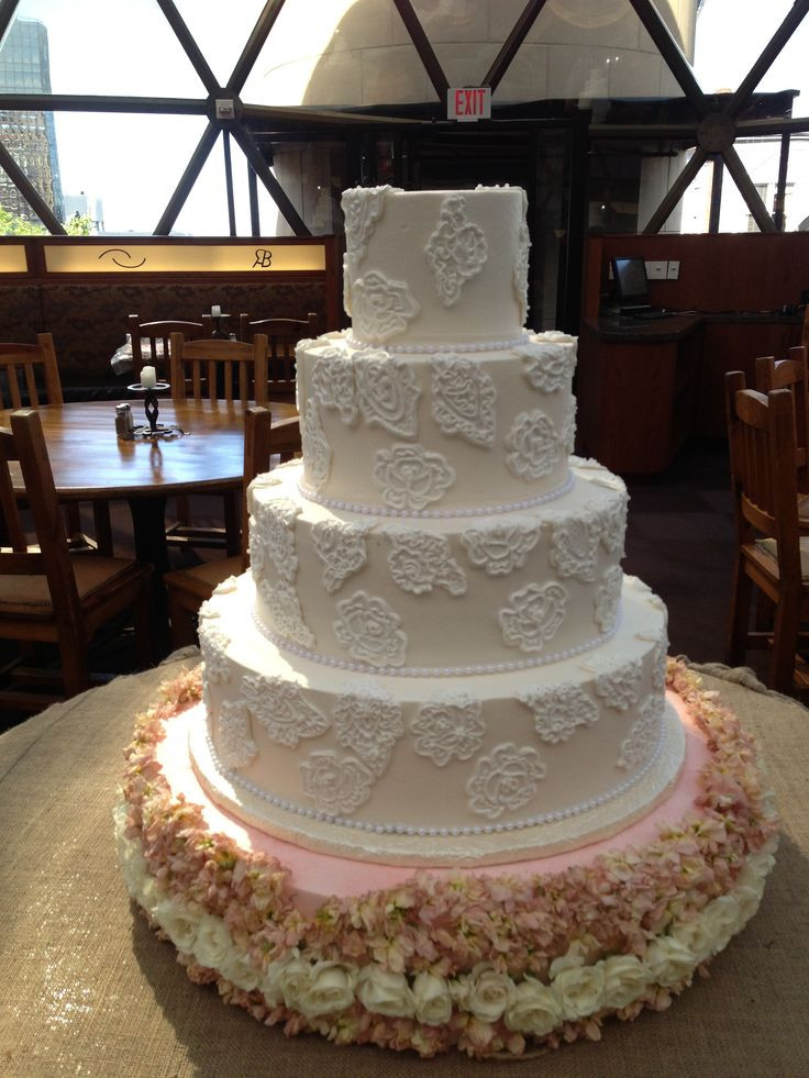 Fort Worth Wedding Cakes  18 best images about Lace Wedding Cakes on Pinterest