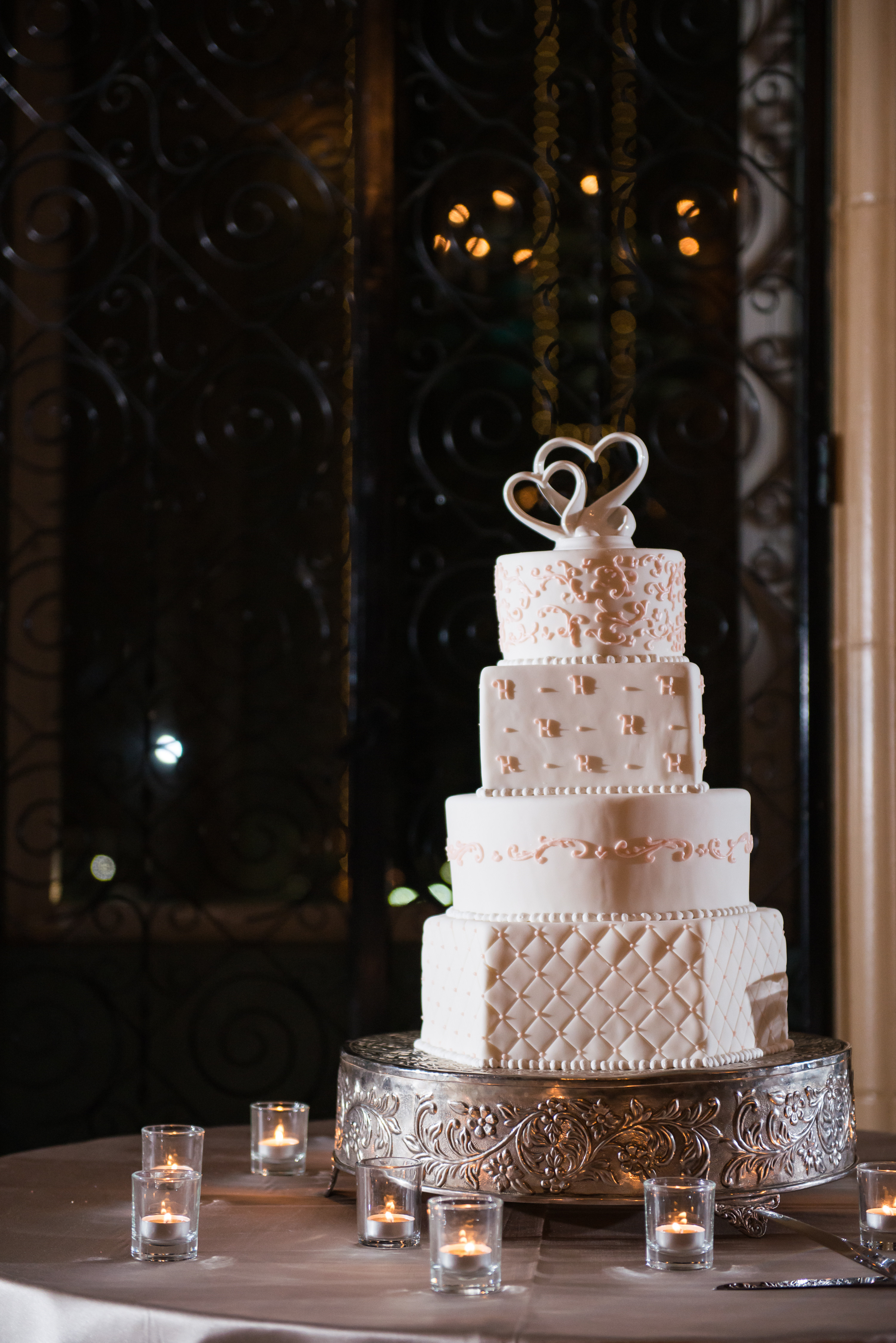 Fort Worth Wedding Cakes  beautiful white pink wedding cake fort worth club The