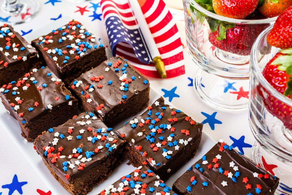 Fourth Of July Brownies  Healthy 4th July Recipes Made For Sharing – Kayla Itsines