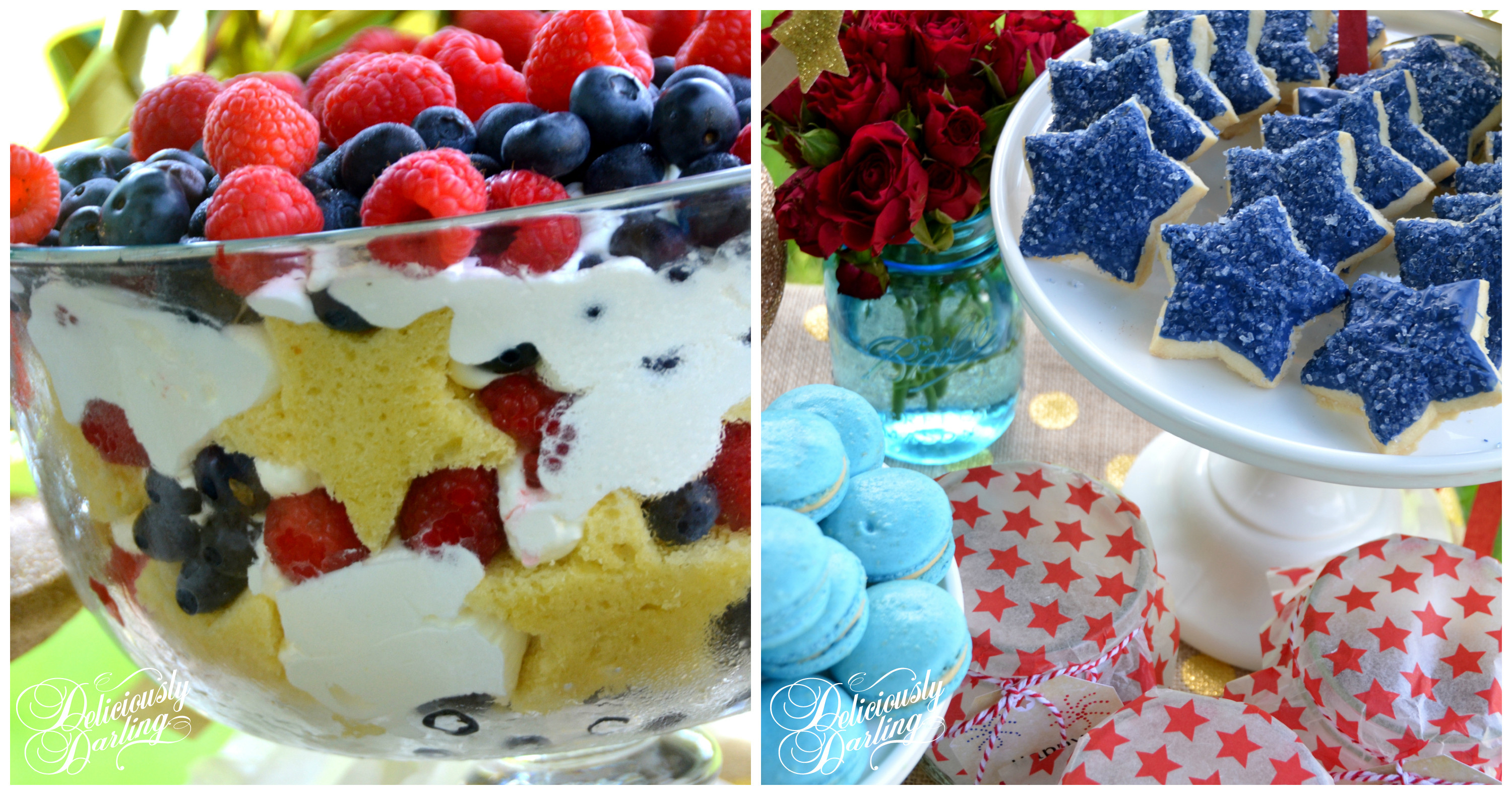 Fourth Of July Dessert  4th of July Dessert Table Let Freedom Ring Deliciously