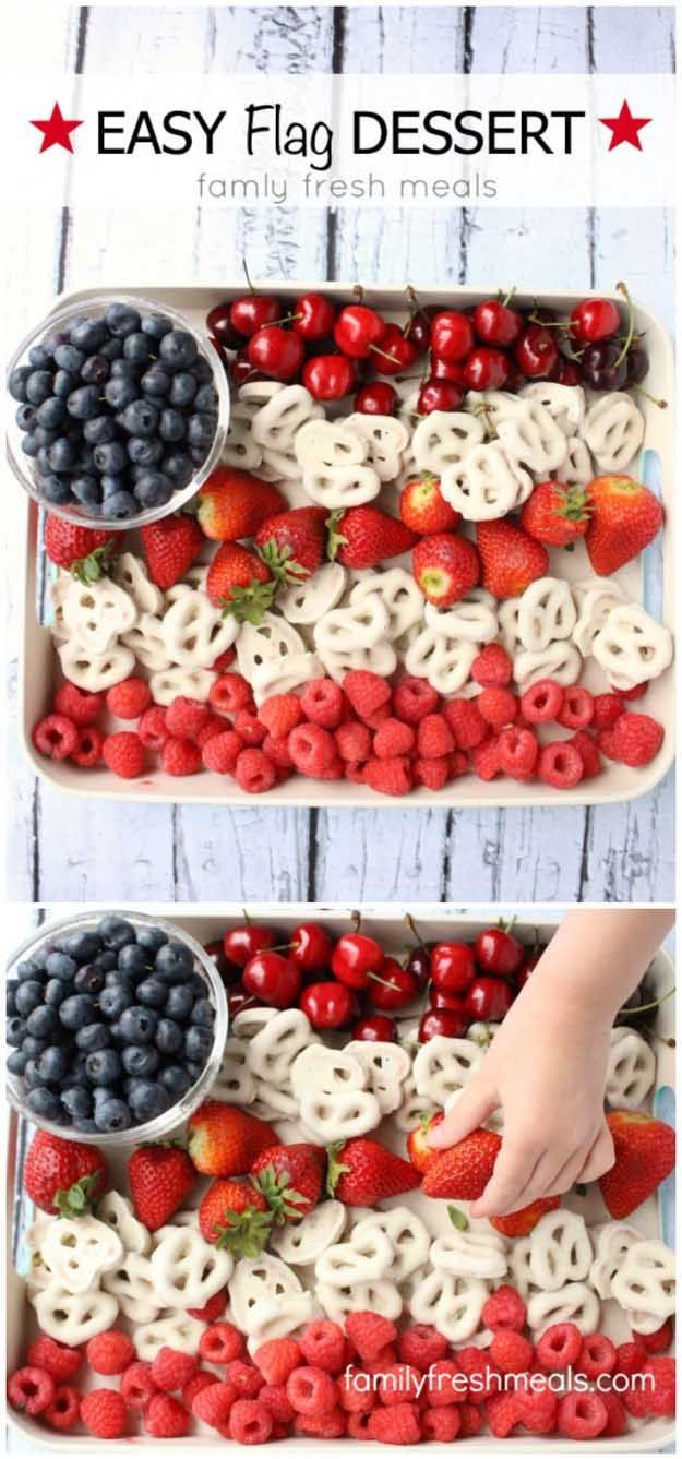 Fourth Of July Desserts Pinterest  58 best images about Holiday 4th of July on Pinterest