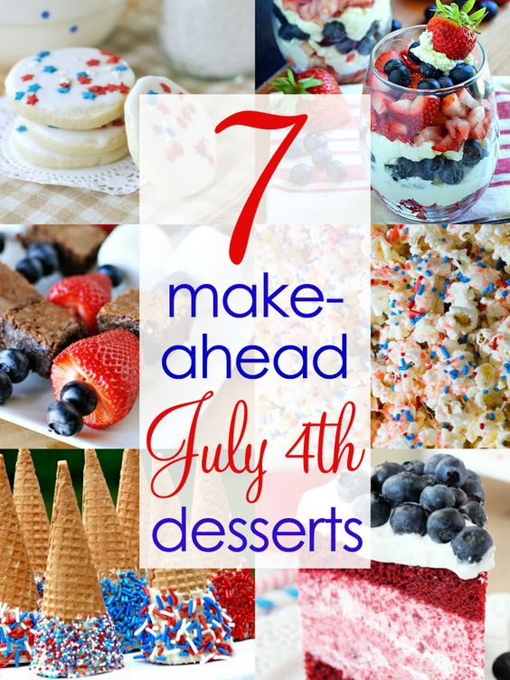 Fourth Of July Desserts Pinterest  Red white blue 4th of july desserts and Summer on Pinterest