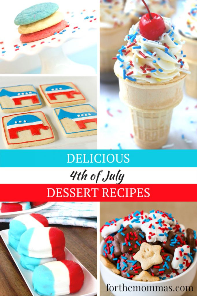 Fourth Of July Desserts Pinterest  37 best images about Recipes 4th of July on Pinterest