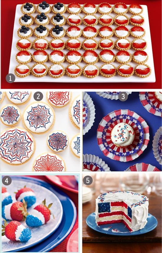 Fourth Of July Desserts Pinterest  4th of July Dessert Ideas Fourth of July Fun