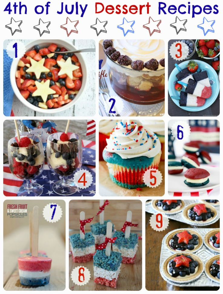 Fourth Of July Desserts Pinterest  17 Best images about 4th of July on Pinterest