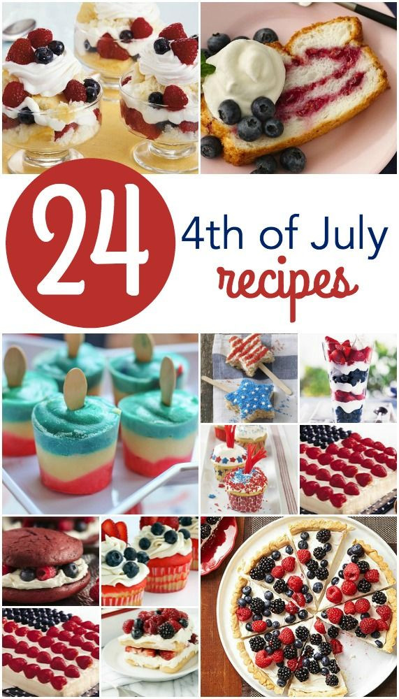 Fourth Of July Desserts Pinterest  17 Best images about Annual 4th of July party on Pinterest
