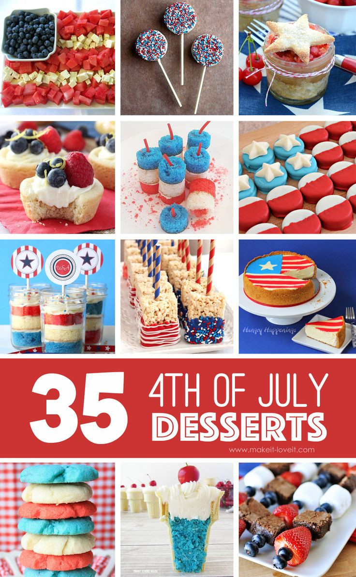 Fourth Of July Desserts Pinterest  26 best images about America on Pinterest
