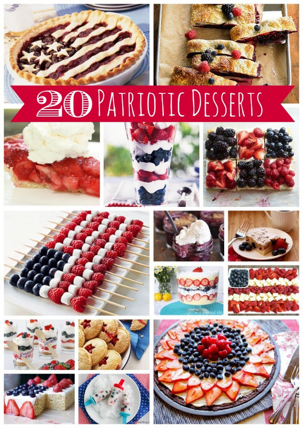 Fourth Of July Desserts Recipes  20 4th of July Dessert Recipes
