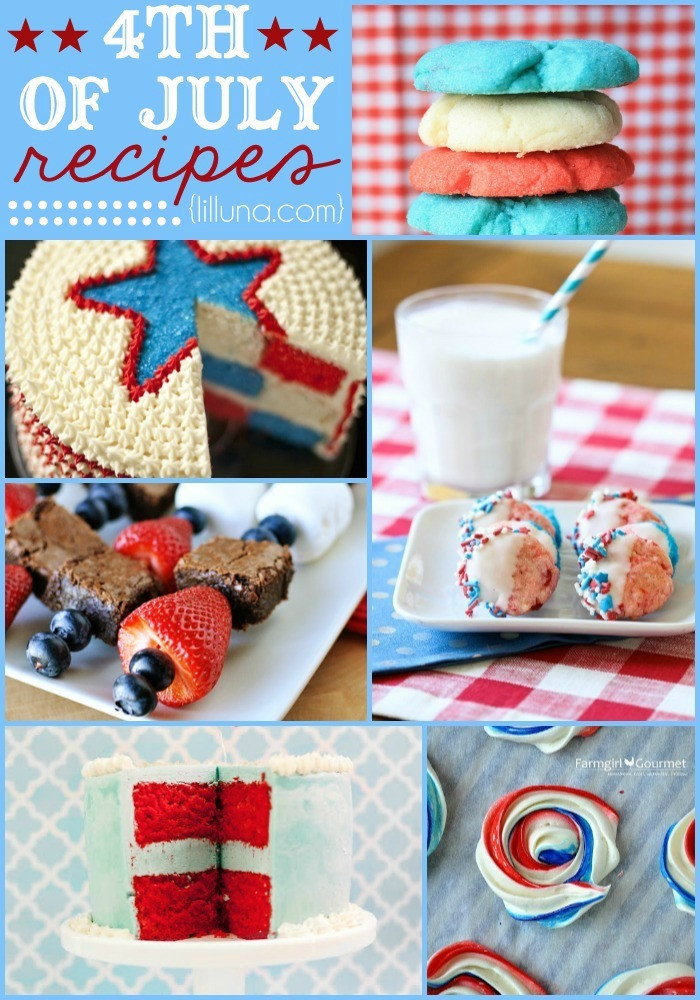 Fourth Of July Desserts Recipes  4th of July Treats