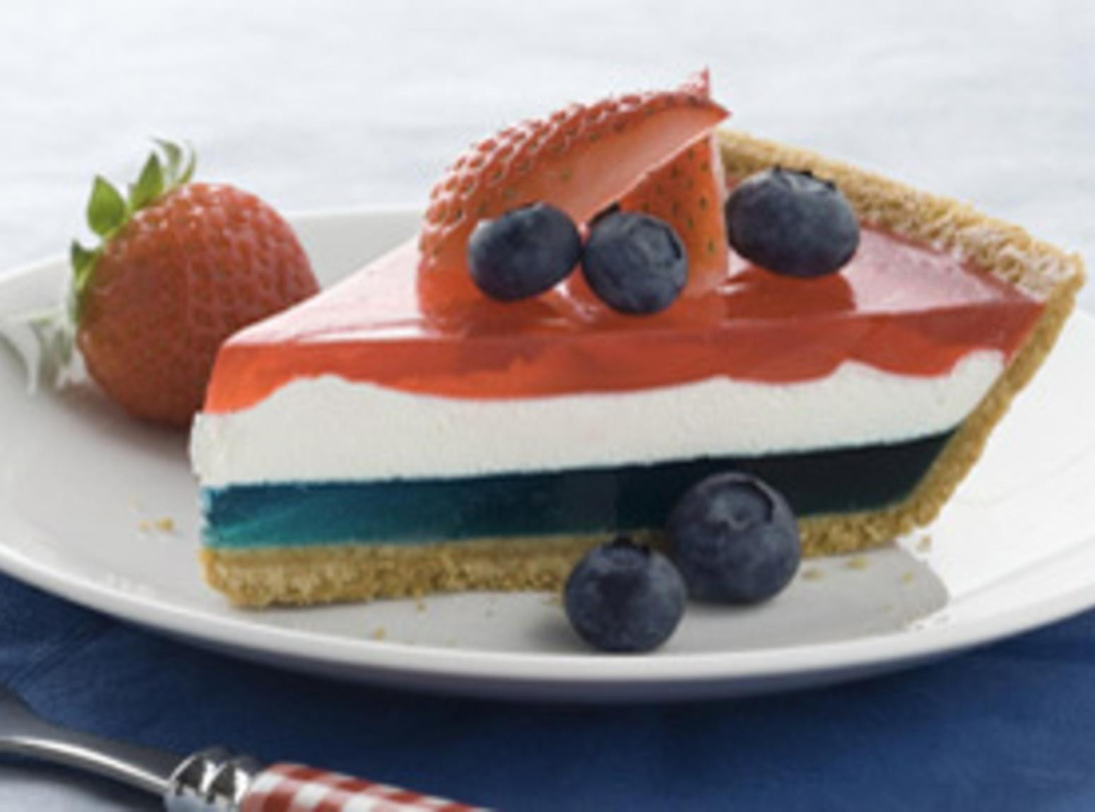 Fourth Of July Pie Recipes  Fourth of July Patriotic Pie Recipe