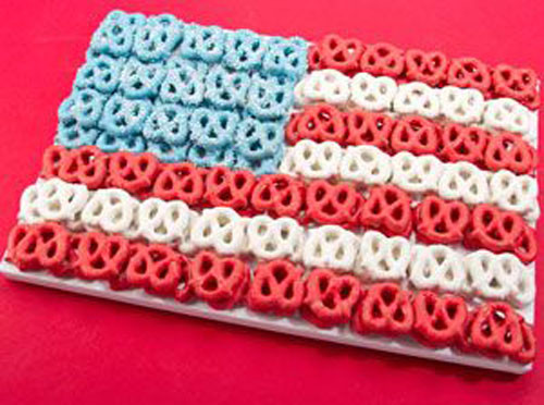 Fourth Of July Pretzels  50 Best 4th of July Desserts and Treat Ideas