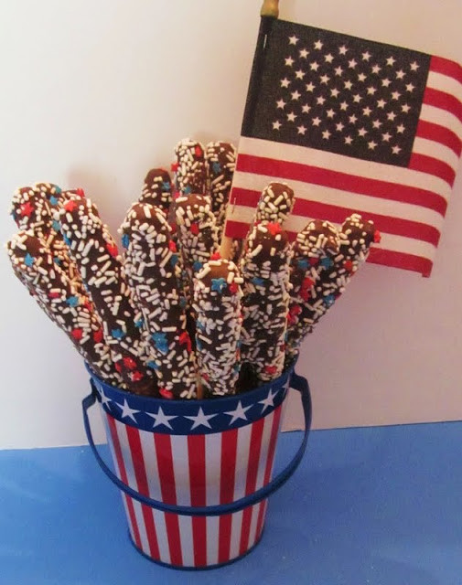 Fourth Of July Pretzels  Inspiration DIY Fourth July Ideas Kids Can Help Craft