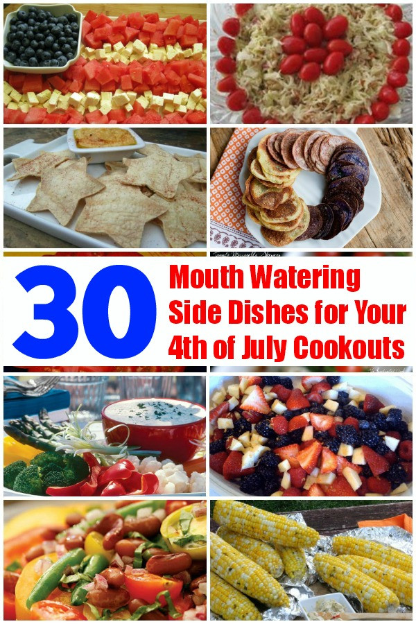Fourth Of July Side Dishes  30 Mouth Watering Side Dishes for Your 4th of July
