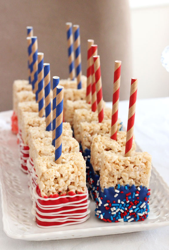 Fourth Of July Snacks And Desserts  20 red white and blue desserts for the Fourth of July